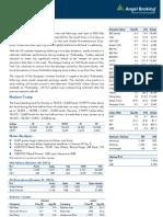 Market Outlook 1-11-12