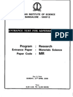 Materials Science Research 08