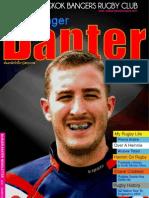 Banger Banter Newsletter 3rd Quarter 2012