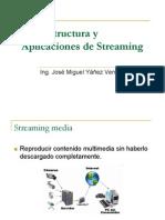 Infraestructura y Aplicaciones de Streaming