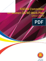 ASEAN Committee on Women (ACW) Work Plan (2011-2015)