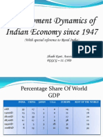 2. Development Dynamics of Indian Economy Since 1947