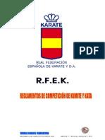 Reglamento Kumite y Kata RFEK