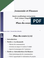 Microéconomie et Fiance (Université libre de Bruxelles)