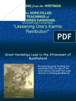 Lessening Karmic Retribution