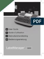Dymo LM360D Manual