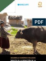 Evaluacion de Impacto Ganado en Puno