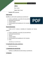 Acta Do 01 Do Outubro de 2012