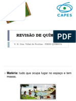 REVISÃO DE QUÍMICA - VIDAL 2012 PARTE 1