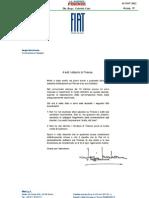 Lettera Di Sergio Marchionne Ai Cittadini Di Firenze