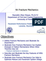 Roque HMA Fracture Mechanics