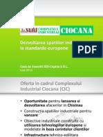 Prezentare Complexul Industrial Ciocana BIS 13.07.2012