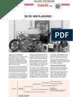 clasificacion ventiladores