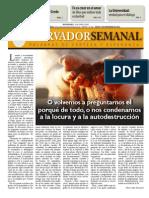 Observador semanal del  01/11/2012