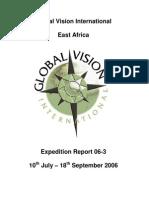 GVI Kenya Expedition 063 Report Final
