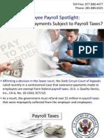 Employee Payroll Spotlight