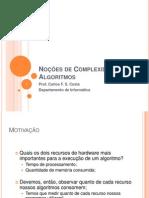 03 - Noções de Complexidade de Algoritmos