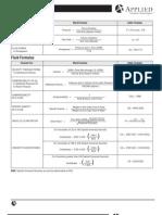 Fluid Power Formulas