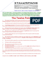 The Twelve Points of Adaptation for the Indian Rite Mass-was a Fraud Perpetrated on Indian Catholics