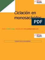 Ciclacion en Monosacaridos