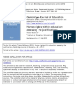 Human Rights Within Education