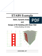 ETABS-Example-RC Building With Shear Wall