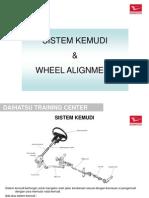 11. Sistem Kemudi & Wheel Alignment