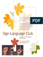 SignLanguage Club
