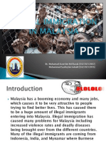 Illegal Immigration in Malaysia