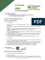Ficha 01 (Desinfectar PC).