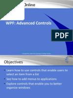 WPF Advanced Controls