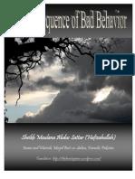 The Consequence of Bad Behavior by Sheikh Maulana Abdus Sattar (DB)