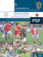Roscommon Senior & Minor Football Cship Finals 2012