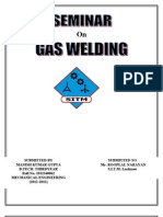 Seminar Report on Gas Welding
