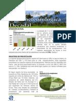 Perspectiva Agrometeorologica Decadal Del 11 Al 20 de Octubre de 2012
