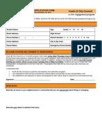 YCC Application