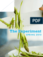 The Experiment - Spring 2013 Catalog