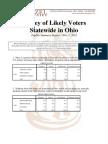 CU-Ohio Statewide Poll Topline Report 11-1-2012 PDF