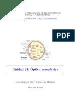 Tema Optica Geometrica