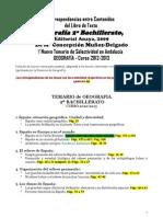 Correspondencias Libro Texto-temas Selectividad 2013