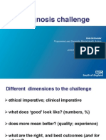 The diagnosis challenge
