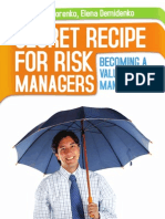 Risk Management Guide - Secret Recipe for Risk Managers