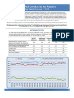 2012 Reuters Ipsos Daily Election Tracking 11.01.12