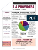 Payers & Providers California Edition – Issue of November 1, 2012