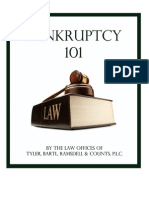 Bankruptcy 101 - An Overview of Bankruptcy
