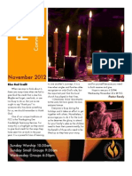 FCC Newsletter November '12 Post