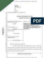Affidavit of David Gingras re