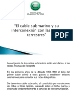 Cable Submarino DIAPOS