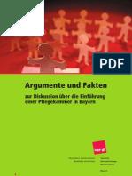 Download Argumente Und Fakten Zur Diskussion Uber Die Einfuhrung Einer Pflegekammer in Bayern