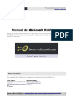 Manual Microsoft Webmatrix